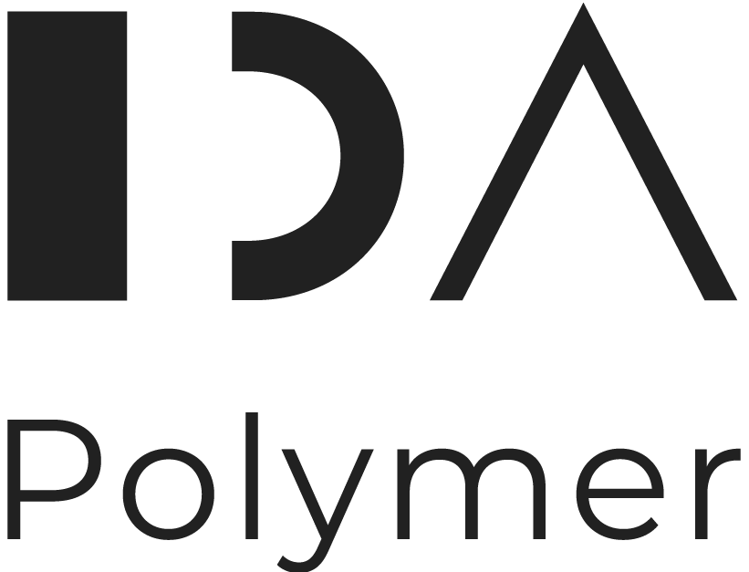 This image has an empty alt attribute; its file name is IDA_Polymer_Logo_RGB_Grey.png
